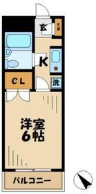 アルビヨン2階Fの間取り画像