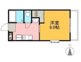 アークヴィラ3階Fの間取り画像