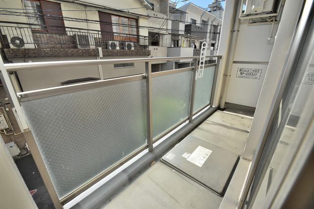 メゾン・ド・成屋大阪 心地よい風が吹くバルコニー。洗濯物もよく乾きそうです。
