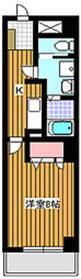 エミナンス丸山台4階Fの間取り画像