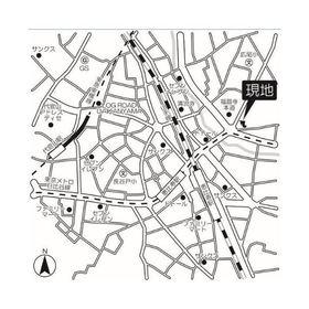 グランドゥール広尾案内図