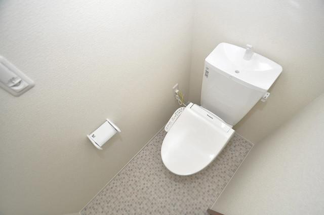 ma.maison(マ.メゾン) 清潔感のある爽やかなトイレ。誰もがリラックスできる空間です。