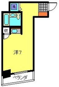 ネオマイム新子安3階Fの間取り画像