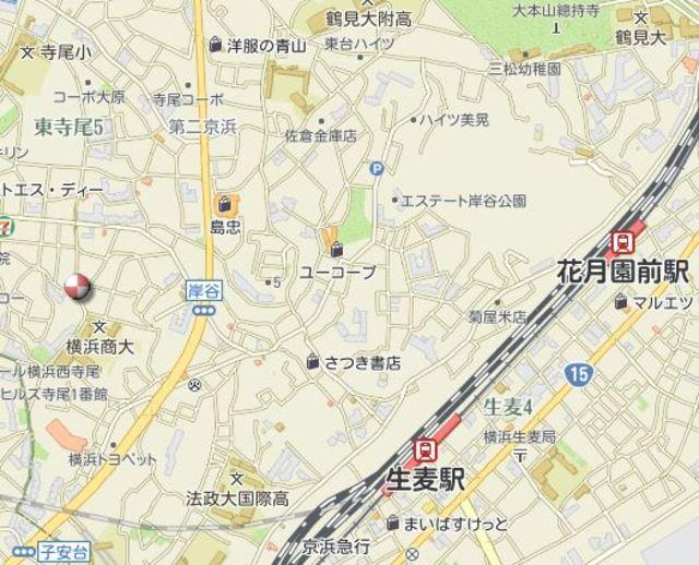 石原アパート案内図
