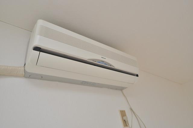 センチュリーシティⅡ エアコンが最初からついているなんて、本当にうれしい限りです。