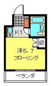 桜木町駅 徒歩8分3階Fの間取り画像
