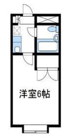 スカイコート相武台2階Fの間取り画像