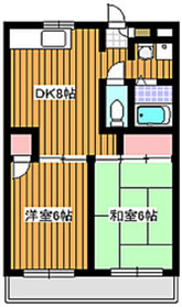 地下鉄赤塚駅 徒歩8分3階Fの間取り画像