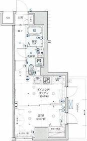 リヴシティ横濱新川町弐番館8階Fの間取り画像