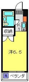 星川駅 徒歩10分3階Fの間取り画像