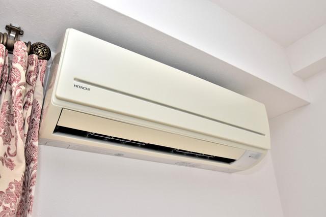 カインド高井田 最初からエアコンが付いているなんてお得ですね