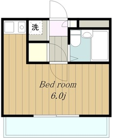 ヴァンハウス小田急相模原3階Fの間取り画像