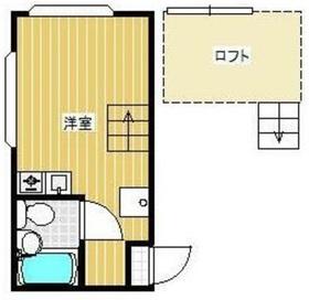 ハイムコマイ1階Fの間取り画像