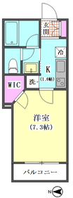 Alflat�U雑色 302号室