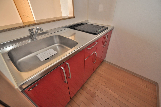 Celeb布施東 システムキッチンなので広々使えて、お料理もはかどります。