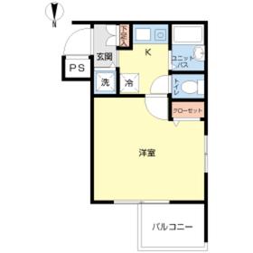 スカイコート池袋西弐番館3階Fの間取り画像