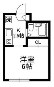 フレール三田1階Fの間取り画像