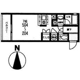リヴィールマンションⅢ4階Fの間取り画像