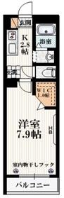 中野坂上駅 徒歩6分2階Fの間取り画像