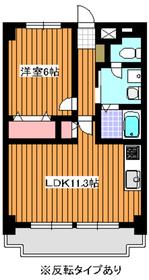 東武練馬駅 徒歩23分3階Fの間取り画像