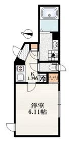 クレール メゾン1階Fの間取り画像