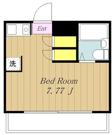 誠第一ビル2階Fの間取り画像