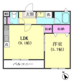 エルアノール 101号室