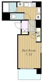 ベルストーク18階Fの間取り画像
