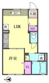 フェリーチェ 101号室