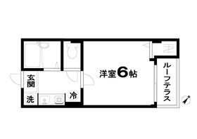 川崎駅 バス8分「遠藤町」徒歩1分2階Fの間取り画像