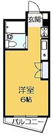オーケービル3階Fの間取り画像