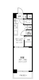 ライオンズマンション川崎第37階Fの間取り画像