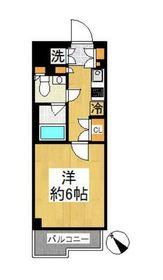 尻手駅 徒歩9分2階Fの間取り画像