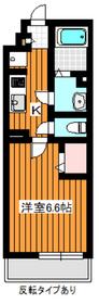 リブリ和光1階Fの間取り画像