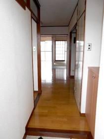 玄関からDKまでの廊下部分