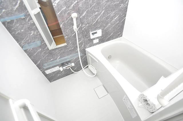 エイチ・ツーオー今里東 ゆったりサイズのお風呂は落ちつける癒しの空間です。