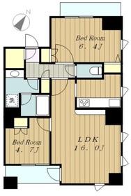 ビラ・アペックス相模原10階Fの間取り画像