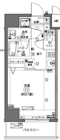 ZOOM横浜3階Fの間取り画像