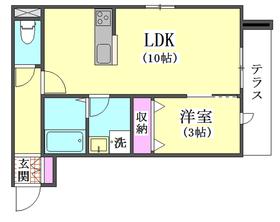 ロイズ ブルー 105号室