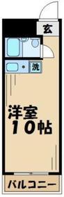 T'sgarden永山 ティーズガーデンナガヤマ2階Fの間取り画像
