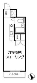 クレールN1階Fの間取り画像