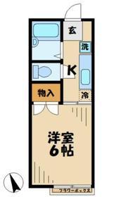 ソフィア青木葉32階Fの間取り画像
