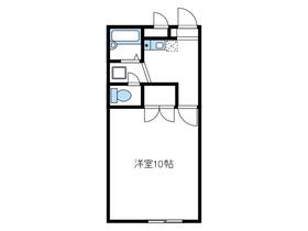 長後駅 バス10分「長坂上」徒歩10分2階Fの間取り画像