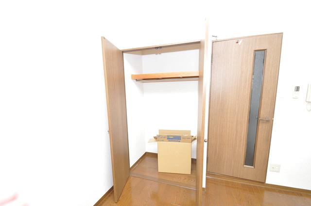 フォレスト今里 もちろん収納スペースも確保。いたれりつくせりのお部屋です。