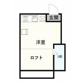 シャトル狛江B館2階Fの間取り画像
