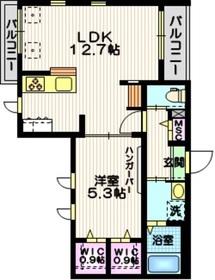 AlteLiebe・KAMATA3階Fの間取り画像