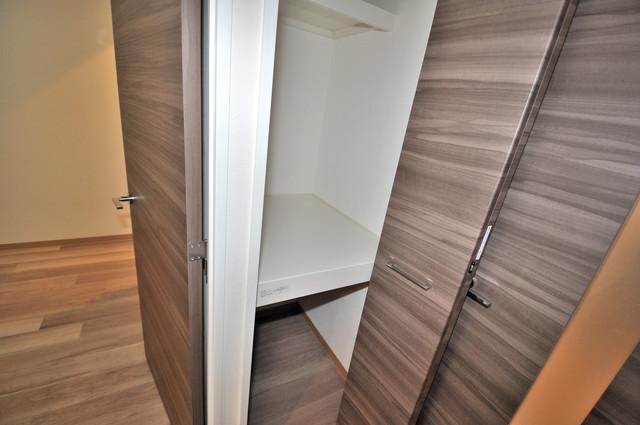 グランマーレ小路駅前 収納がたくさんあると、お部屋がすっきり片付きますね。