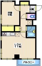 アンビエンス世田谷4階Fの間取り画像