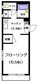 パークショアコート2階Fの間取り画像