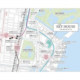 スカイハウス浜離宮案内図